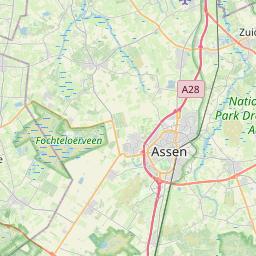 Emmen Assen Afstand Tussen De Steden Km Mi Routebeschrijving Weg