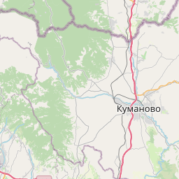 Skopje — Sveti Nikole, distance between cities (km, mi