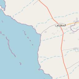 القنفذة على خريطة المملكة العربية السعودية خريطة الموقع الوقت المحدد