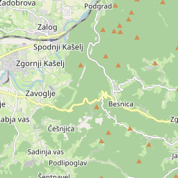 Razdalja Ljubljana Dol Pri Ljubljani V Kilometrov Miljah Smer Poti