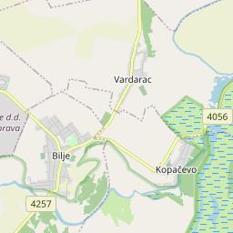 Osijek Bilje Udaljenost Između Gradova Km Mi Voznju Cesta