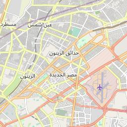 القاهرة باسوس المسافة بين المدن كم ميل اتجاهات القيادة طريق