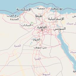 شرم الشيخ الأسكندرية المسافة بين المدن كم ميل اتجاهات القيادة طريق