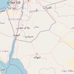 الرياض منطقة الجوف المسافة بين المدن كم ميل اتجاهات القيادة طريق