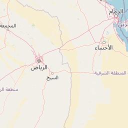 الرياض السليل المسافة بين المدن كم ميل اتجاهات القيادة طريق