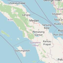 Jarak Banda Aceh Tapak Tuan Di Kilometer Mil Arah Route