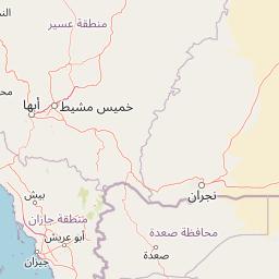 مكة بيشة المسافة بين المدن كم ميل اتجاهات القيادة طريق
