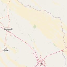 الرياض نفي المسافة بين المدن كم ميل اتجاهات القيادة طريق