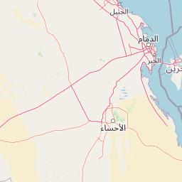 الرياض الهدار المسافة بين المدن كم ميل اتجاهات القيادة طريق