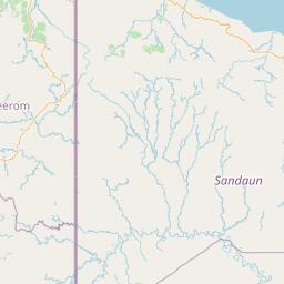 Jayapura Kabupaten Mamberamo Tengah Jarak Antara Kota Km Mi Mengemudi Arah Jalan