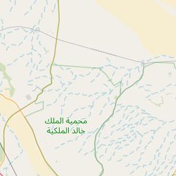 الرياض ملهم المسافة بين المدن كم ميل اتجاهات القيادة طريق