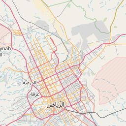 الرياض حوطة سدير المسافة بين المدن كم ميل اتجاهات القيادة طريق