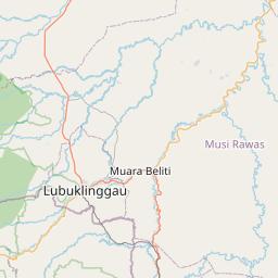 Bengkulu Kabupaten Bengkulu Utara Jarak Antara Kota Km Mi Mengemudi Arah Jalan