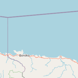 Kota Gorontalo Kabupaten Bolaang Mongondow Jarak Antara Kota Km Mi Mengemudi Arah Jalan